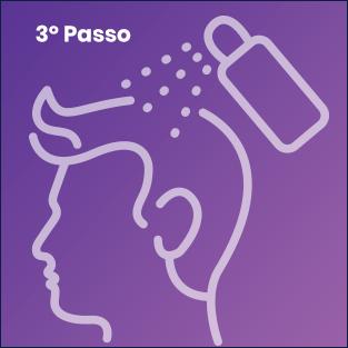 Passe o Instant Hair Plus por todas a áreas calvas até atingir o resultado desejado.